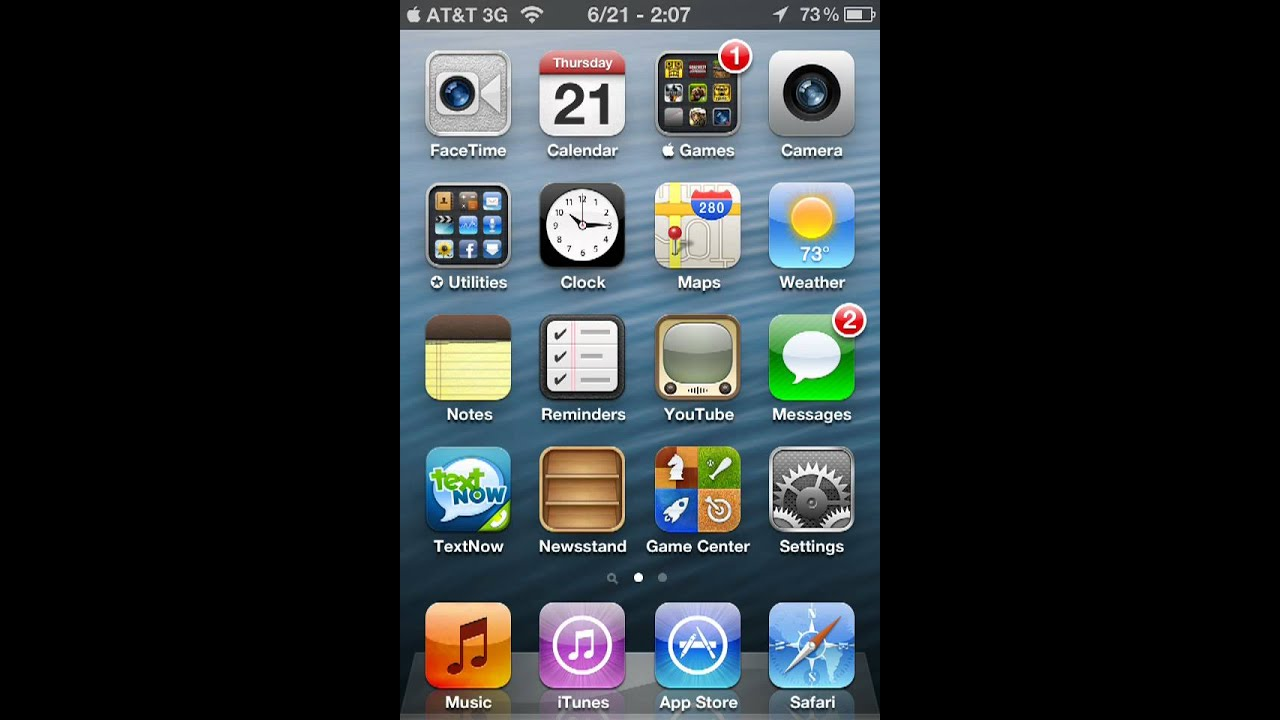 How To Get Ios 6 Wallpaper