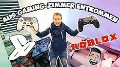 ENTKOMME AUS KAANS GAMING-ZIMMER! Kathi muss Roblox, FIFA 20 & Subway Surfers spielen!