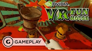 NVIDIA VR Funhouse Carnival Gameplay