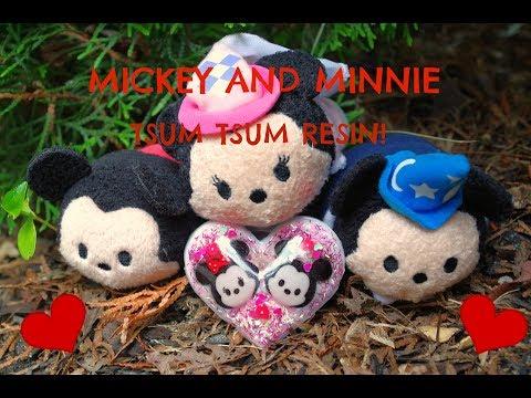 TSUM TSUM MICKEY AND MINNIE RESIN!!