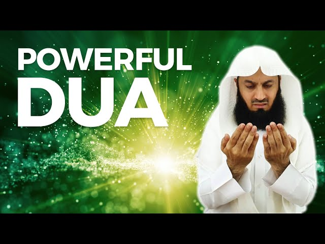 MUST LEARN | A Powerful Dua (Supplication) - Mufti Menk - eKhutbah