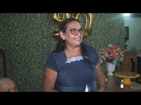 Aniversário de 90 anos de Maria Rodrigues Vieira (Dona Maricota)em Santa Luzia do Paruá