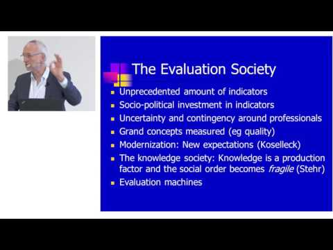 Peter Dahler-Larsen: The Evaluation Society and its consequences for evaluation of research