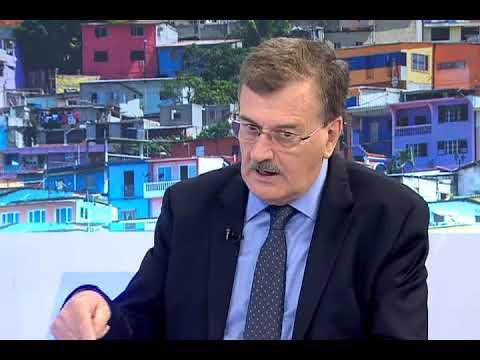 Wilson Pástor, exministro de Recursos Naturales no Renovables, informe del campo petrolero Singue