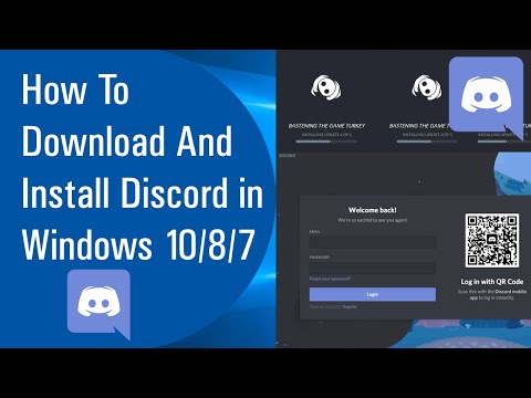 ✅ How To Download And Install Discord in Windows 10/8/7 (2020)