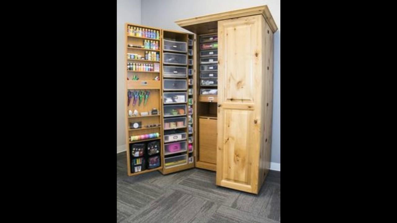 DIY Scrapbox cupboard Part 1!! - YouTube