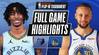 GRIZZLIES at WARRIORS | FULL GAME HIGHLIGHTS | May 21, 2021
