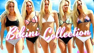 BIKINI COLLECTION TRY-ON 2017!!  Swimsuit Collection! 👙