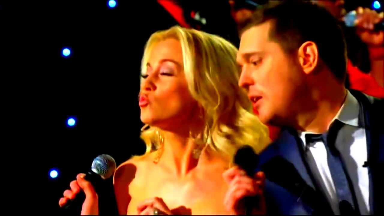Michael Bublé y Kellie Pickler White Christmas subtitulado en ...