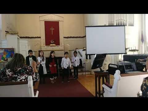 Segunda Alabanza a Dios. Coro de Niños del Greater Boston Academy