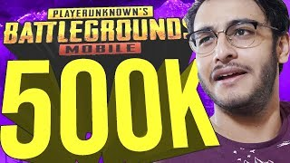 PUBG MOBILE / APEX LEGENDS LIVE: 500K SUBSCRIBER SPECIAL | ROYAL PASS RANK PUSH | NEW UPDATE