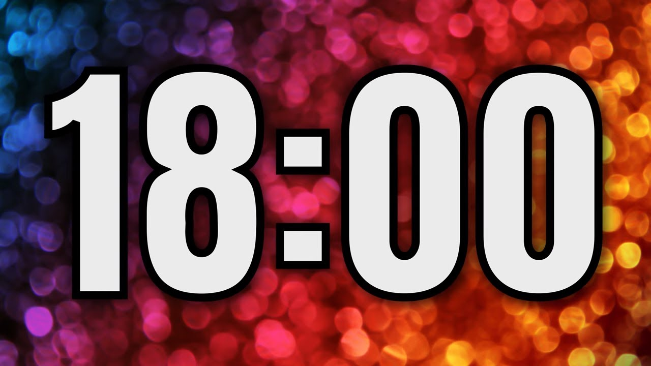 18 minute timer  u23f2 ufe0f