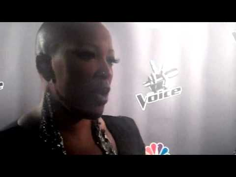 THE VOICE: Frenchie Davis talks about her first live performance