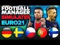 Football Manager Simulates Euro 2021
