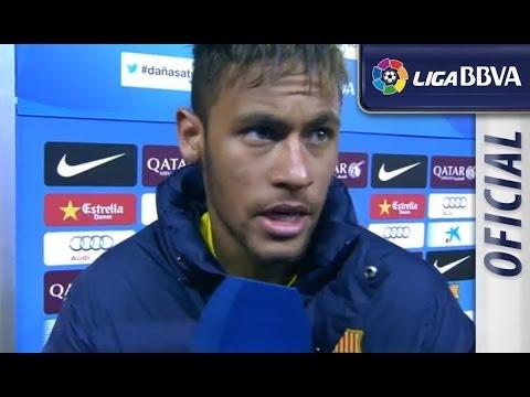 Entrevista   Interview Neymar tras el FC Barcelona (3-0) Celta de Vigo - سلتيك برشلونة - HD
