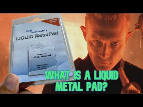 What on earth is this?! Liquid Metal Pads