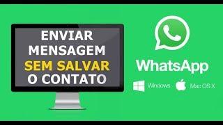 Como Iniciar Conversa no Whatsapp Sem Salvar o Número nos Contatos