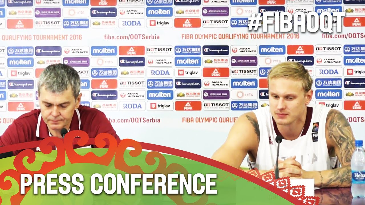 Latvia v Czech Republic - Press Conference