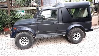Modified Maruti Gypsy | Indian Offroads 4x4 Custom | Mumbai India 2018 | Imzy Vlogs