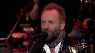 Sting - There is no rose of such virtue (Live in Durham 2009).flv