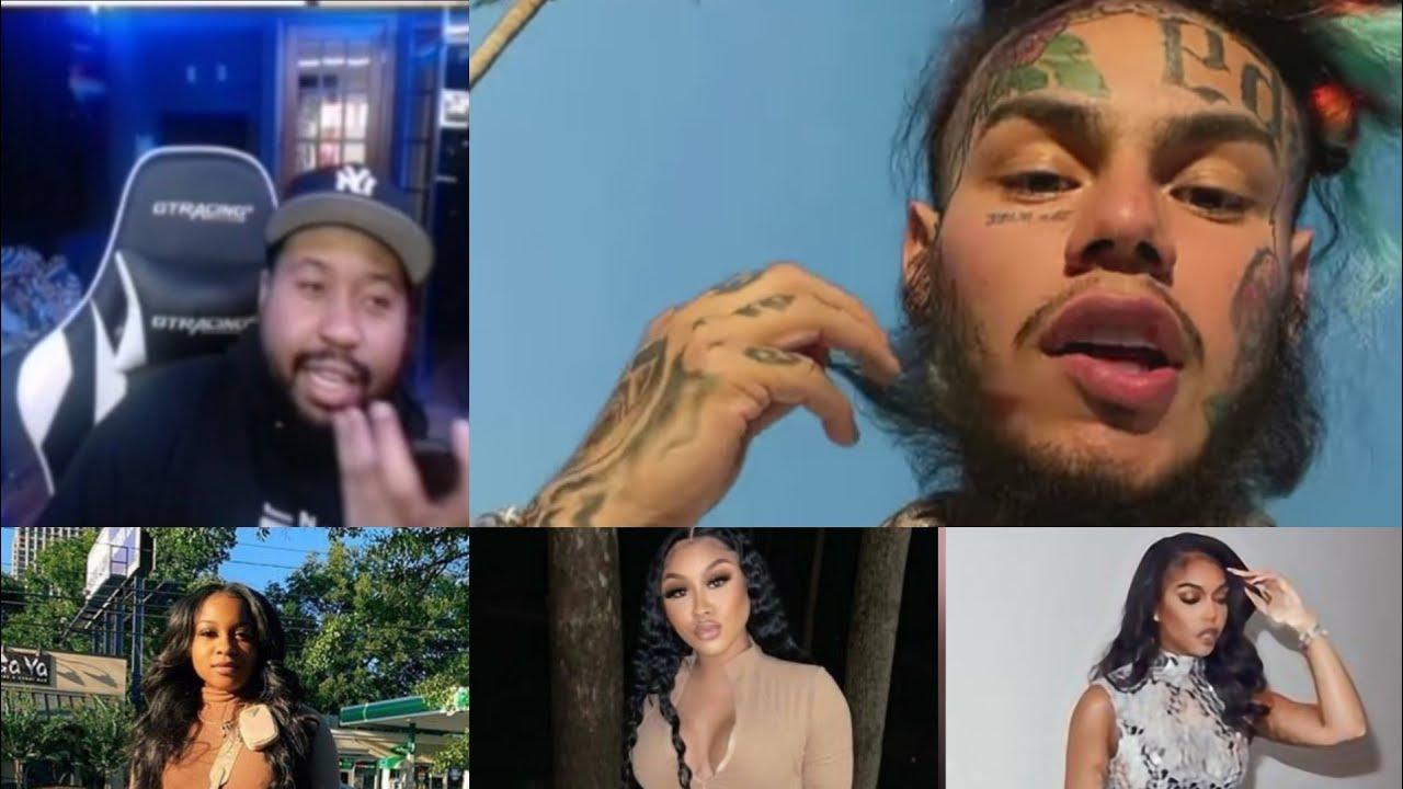 DJ Akademiks and 6ix9ine discuss industry chicks and rank them in tiers. Talk Uzi, Ari, Taina+more