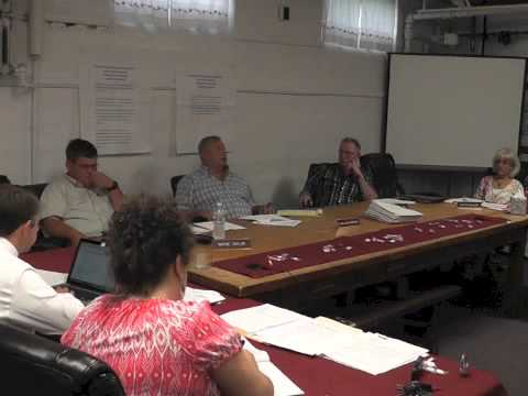 Ticonderoga Town Board Meeting  7-9-15