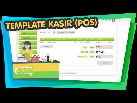 APLIKASI LAUNDRY | KASIR LAUNDRY | LAUNDRY POS from YouTube · Duration:  18 minutes 9 seconds