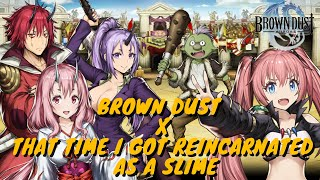 Brown Dust x That Time I Got Reincarnated as a Slime Collab - Anime Lore + Basic Skill Introduction