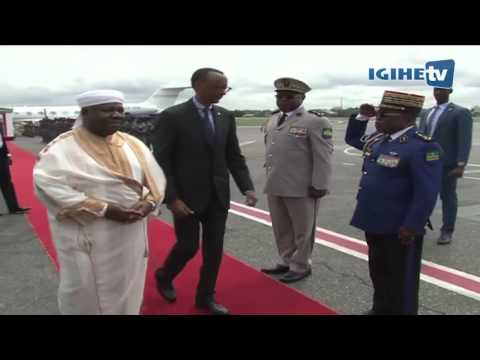 President Kagame visits Gabon (28/10/2016)