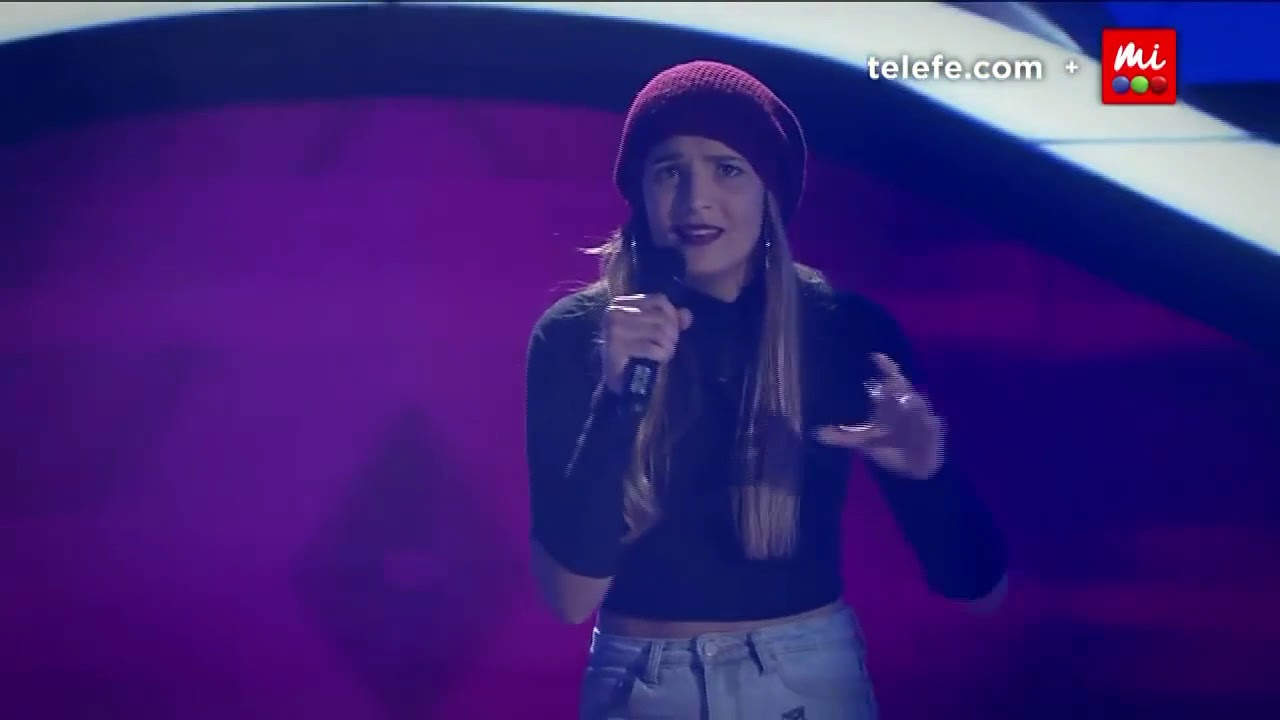 Top 10 female Blind auditions | The Voice Argentina - English songs