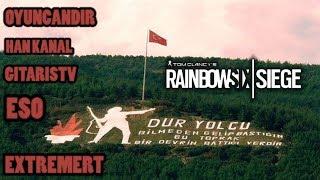 Çanakkale geçilmez !!! | RainbowSix Siege Ranked w/Ekip