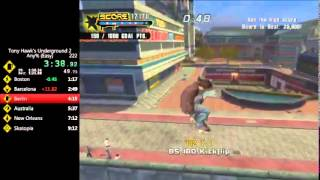 Tony Hawk's Underground 2 Speedrun in 8:56.