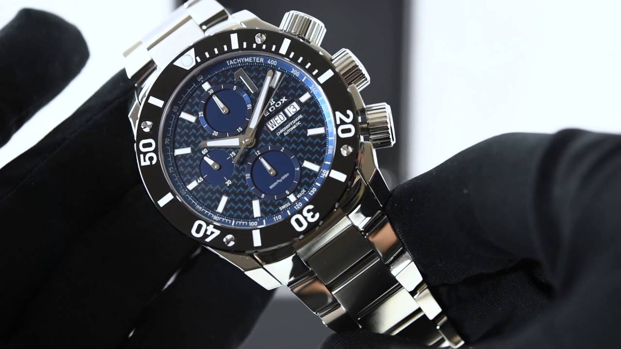 Best Automatic Watches >> Edox Chronoffshore 1 Chronograph Automatic 01114 3M BUIN ...