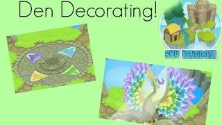 Decorating The Sky Kingdom Den - Animal Jam