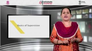 Principles and practices of supervision and monitoring of education system in India