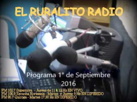 Ruralito Radio 11 9 16