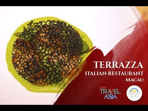 Terrazza Italian Restaurant At Galaxy Macau Youtube