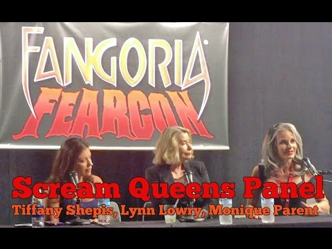 Scream Queens Panel with Tiffany Shepis, Lynn Lowry, Monique Parent