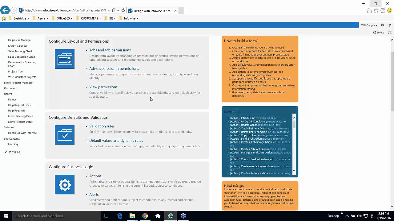Building A Truly Helpful Help Desk System In Sharepoint