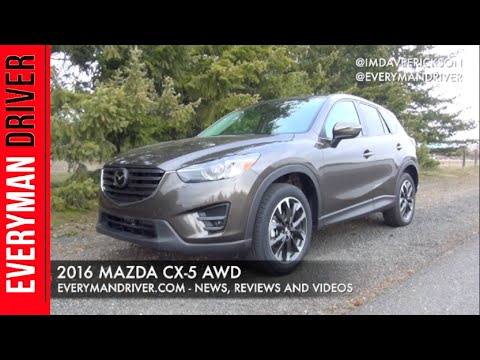 Watch This: 2016 Mazda CX-5 AWD on Everyman Driver