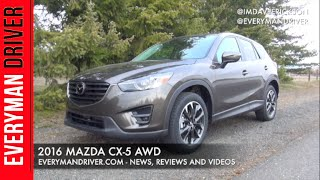DETAILED Review | 2016 Mazda CX-5 AWD | Everyman Driver