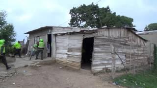 Allanamiento en Sabanalarga: hallan una granada de fragmentación