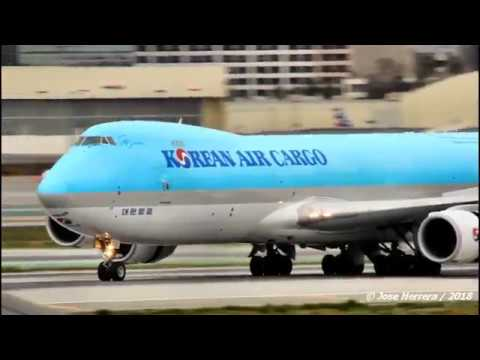 Cargo Planes at LAX Video 158