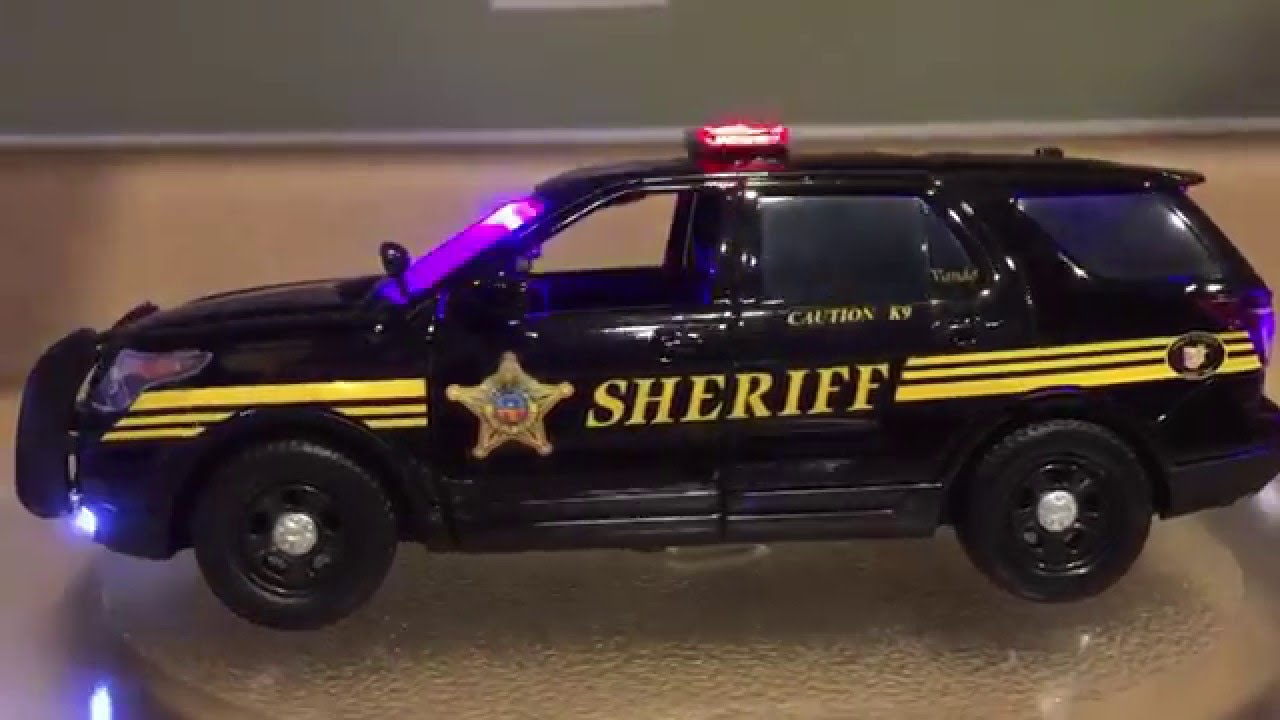 1:24 Franklin County Sheriff's Office Ford Utility Police Interceptor  Motormax