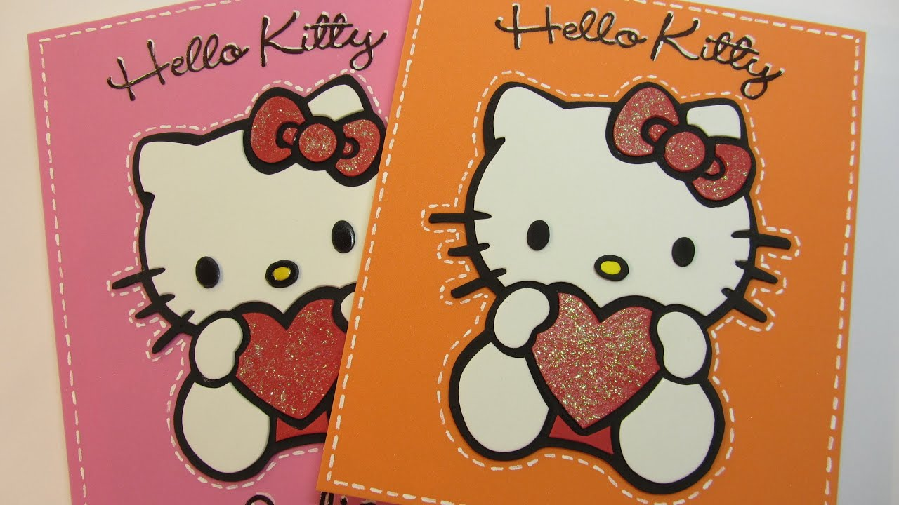 Tutorial: Foam Hello Kitty. Hello Kitty de goma eva, foami o fomi ...