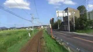 【一畑】 前面展望(6) 松江イングリッシュガーデン前→松江しんじ湖温泉 thumbnail