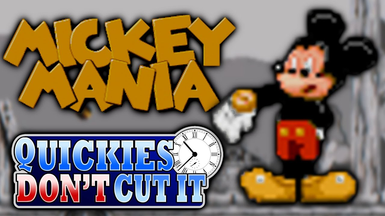 Mickey Mania Review - Quickies Don't Cut It
