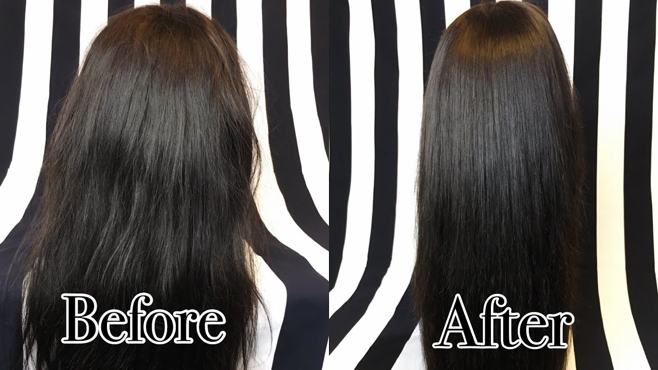 88eb54a28f HOW TO REVIVE YOUR OLD WEAVE USING SILICON MIX! - YouTube