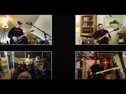 BOYSETSFIRE performed 15 song live virtual concert from lock down ..