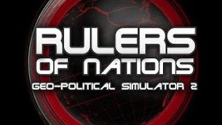 Обзор Rulers of nations. Geo-political simulator 2